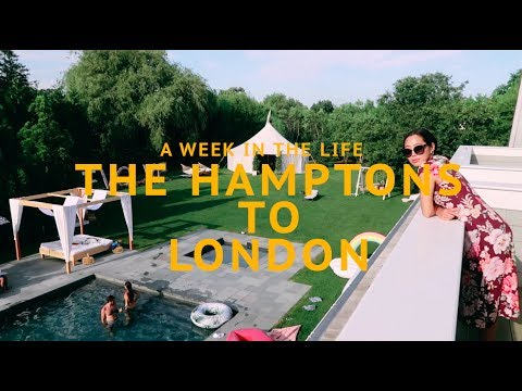 A Week in the Life - The Hamptons & London | Aimee Song