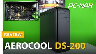 aeroCool DS-200 Midi Tower - Review / Test - HD