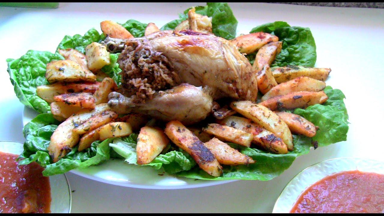 دجاج معمرومحمر سريع ولذيذ مع اصابع ...