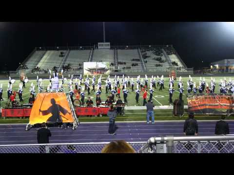 Weslaco High School Marching Band at Pigskin Competition 2013