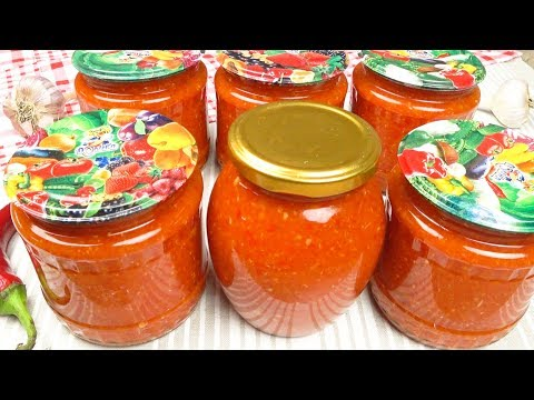 Острый соус  Помидоры, перец, хрен, чеснок | Hot Sauce  Tomatoes, Peppers, Horseradish, Garlic