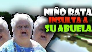 "NIÑO RATA INSULTA A SU ABUELA POR ""TROLLEO"" - TROLLEO EN MINECRAFT | E-MasterSensei"