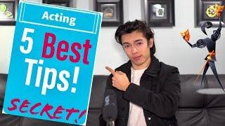 Acting Tips for Teen Actors!  BEST ACTING ADVICE