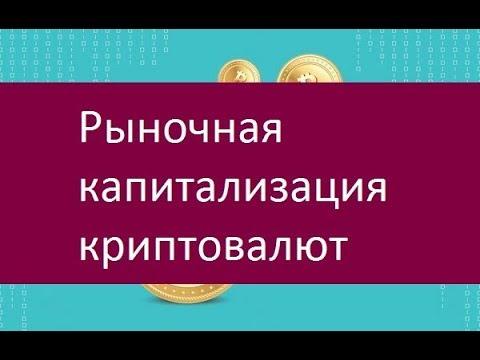 Рыночная капитализация криптовалют. Ключевые особенности