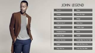 Best Songs of John Legend - John Legend greatest hits full album