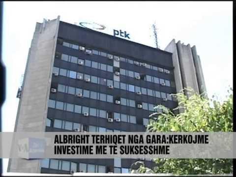 Albright tërhiqet nga gara për blerjen e PTK-së - Vizion Plus - News - Lajme