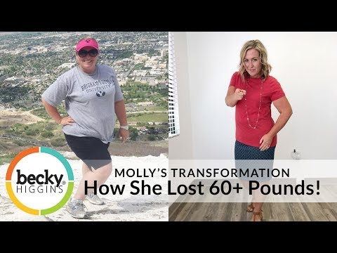 Weight Loss Success Tips with Molly - How She Lost 60+ Pounds!