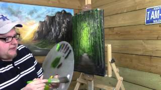 landscape painting  painting with magic season 4 ep 5 green woods of kentucky