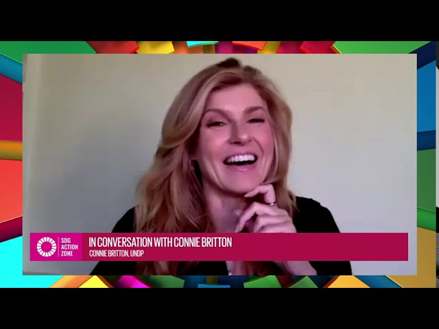 In conversation with Connie Britton