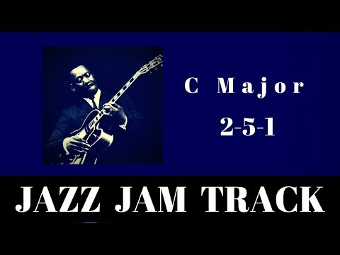 2-5-1 Jazz Practice Backing Jam Track // C Major (Medium Swing)