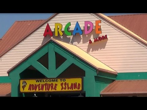 Adventure Island Arcade Amuesment Tour Orange Beach Alabama You