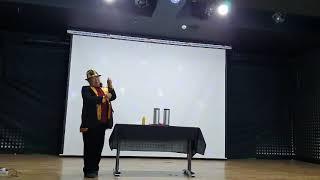 남예종실용전문학교 최고위과정 마술 발표 주임교수