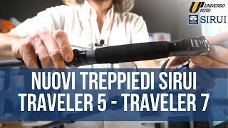 SIRUI Traveler 7C Treppede in Carbonio 1,7m Nero Video