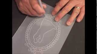 Parchment Craft-PCA 31 Intimate Dance Card Punch Tools demo