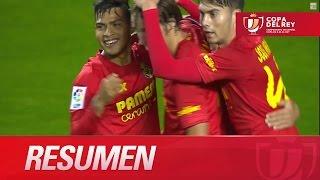 Resumen de Cádiz CF (1-2) Villarreal CF - HD Copa del Rey