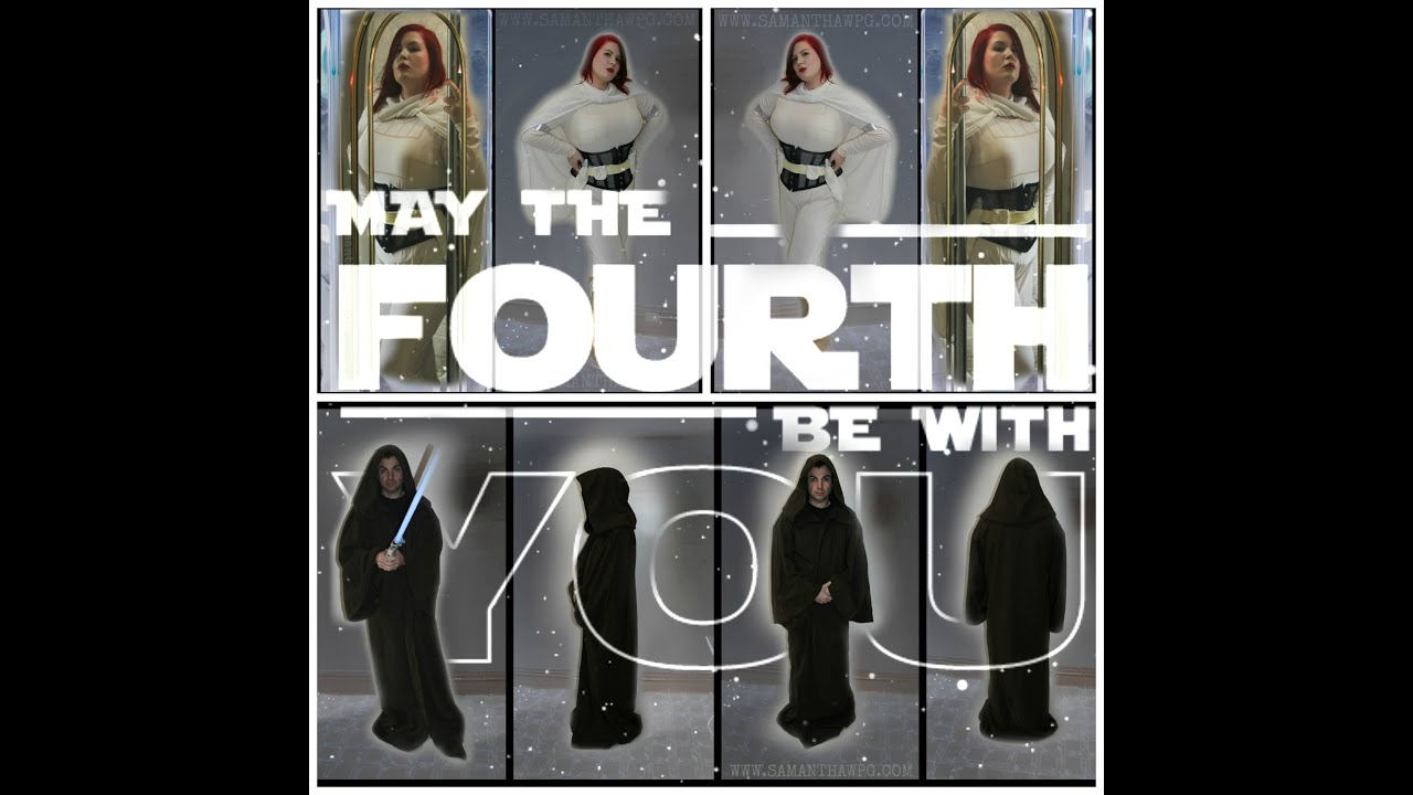 How To Respond To May The 4th Be With You: Star Wars May The 4th Be With You! CostumeSuperCenter.ca