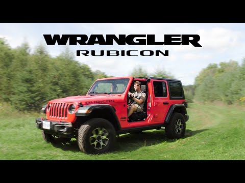 2018 Jeep Wrangler Rubicon JL Review - Offroading in the New Jeep