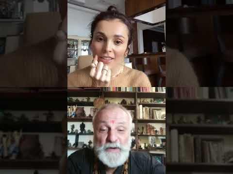 Интервью Сати Казановой и Бхагавата даса