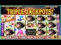 🤩 TRIPLE JACKPOTS 🤩 MOST AMAZING COME BACK ON LAST SPIN ❗️ HIGH LIMIT SLOT MACHINE