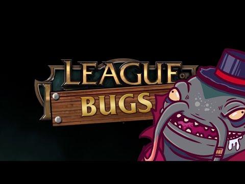MATO A UN ALIADO ? ROMPO EL JUEGO CON TAHM!! LEAGUE OF BUGS ( League of Legends )