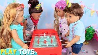 Лялька День Народження Сюрприз Іграшки Грати!