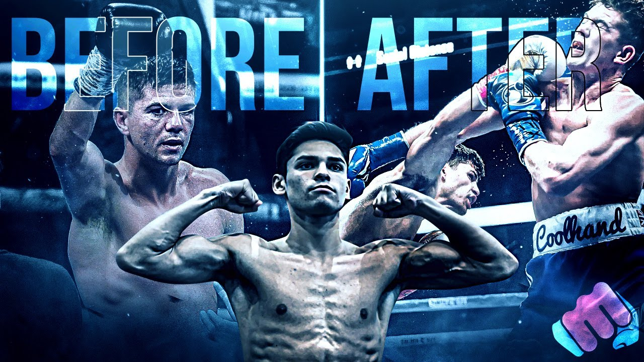 Opponents BEFORE and AFTER Fighting RYAN GARCIA
