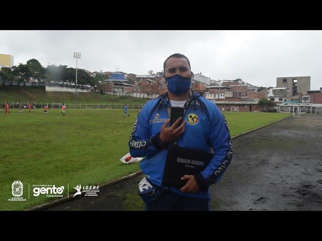 4ta convocatoria Selección Cundinamarca sub 15 de Fútbol en Fusagasugá.
