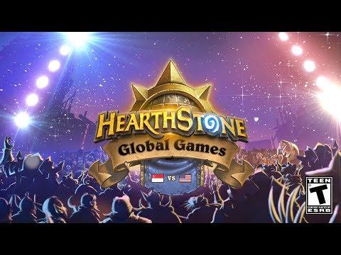 Singapore vs USA - Ro48 - 2018 Hearthstone Global Games - Week 7