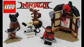 LEGO The LEGO Ninjago Movie Spinjitzu Training - 70606 set review
