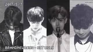 [편집] Get Ugly 브랜뉴뮤직(임영민, 김동현,박우진,이대휘) 버전 @포지션 평가