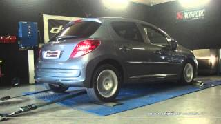 Peugeot 207 1.6 hdi 90cv Reprogrammation Moteur @ 108cv Digiservices Paris 77 Dyno