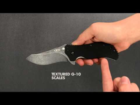 Zero Tolerance 0350BW Onion / Strider video_1