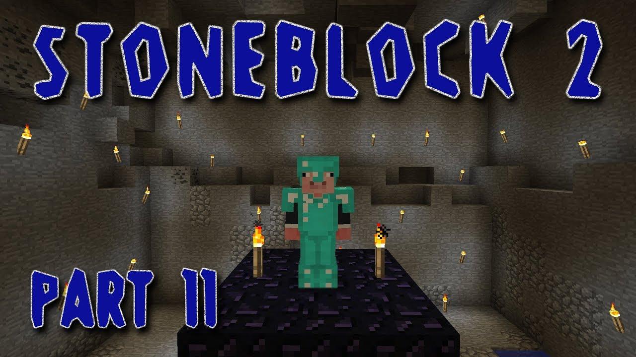 Minecraft - Stoneblock 2 - #11 - End Chunk (sort of)