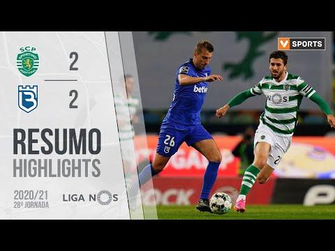Highlights | Resumo: Sporting 2-2 Belenenses SAD (Liga 20/21 #28)