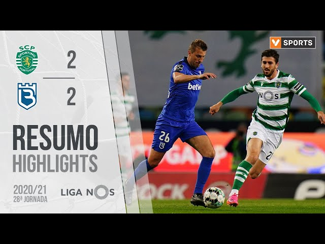 Highlights   Resumo: Sporting 2-2 Belenenses SAD (Liga 20/21 #28)
