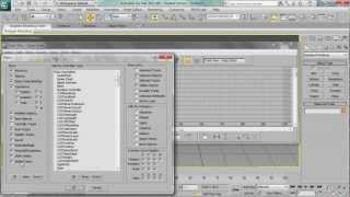 Block animation controller in 3DS Max - tutorial