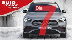 Höher, kürzer, breiter - 7 Fakten zum neuen Mercedes GLA   auto motor und sport