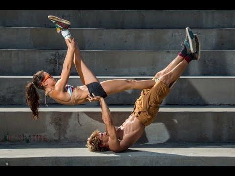 Acro yoga tutorial Ninja Star, Acroyoga learning