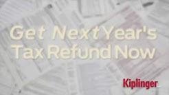 Get Next Year's Tax Refund Now
