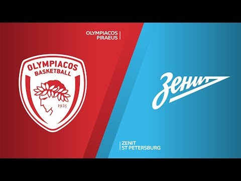 Olympiacos Piraeus - Zenit St Petersburg  Highlights | Turkish Airlines EuroLeague, RS Round 3