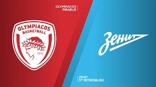 Olympiacos Piraeus - Zenit St Petersburg  Highlights | Turkish Airlines EuroLeague, RS Round 3