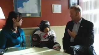 Ron Neal discusses Bear Wear 2011 (Queen Alexandra Centre for Children's Health)