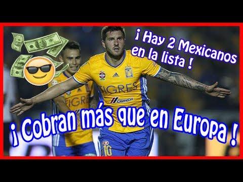 9 Futbolistas Crack de la Liga MX con sueldos millonarios