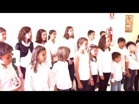 coro niños, canon ebráico. Modulando escuela de educación musical willems de Valladolid