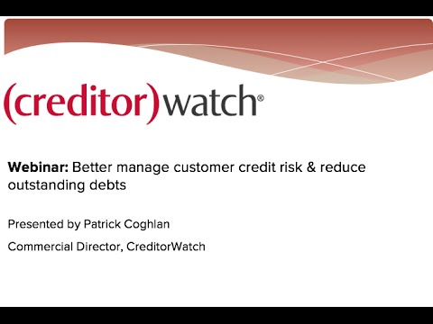 Better manage customer credit risk & reduce outstanding debts