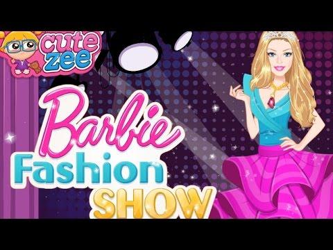 Barbie Fashion Show Dress Up Game Youtube