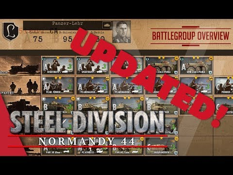 UPDATED! Panzer-Lehr - Steel Division: Normandy 44 Battlegroup Overview #15