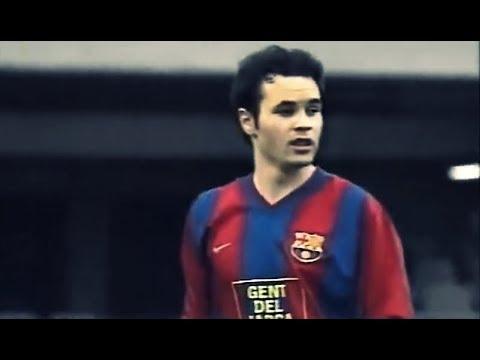 Andres Iniesta ○ Barcelona B vs Novelda ○ 2002/03 - YouTube