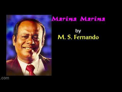 MARINA MARINA By M S Fernando