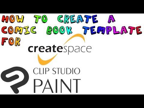 [Clip Studio] How to Create a Comic Book Template for CreateSpace